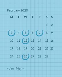 February 2020 posts